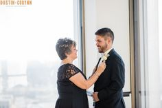 Fort Wayne Wedding. Fort Wayne and Indianapolis Photographers. Dustin and Corynn Photography. Groom and Mother of the Groom