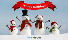 Happy Holidays! It's time to celebrate the joy and warmth of the season and spread happiness among everyone.
