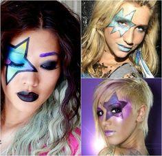 12 meilleures images du tableau maquillage disco