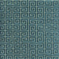 Plush Keys Bk Turquoise Contemporary Upholstery Fabric by Robert Allen