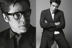 Icon: Benicio Del Toro (for Prada Men's Spring/Summer 2013)