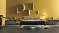 NATURAL WALL PAINTING - Design furnishing by Lago