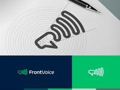 FrontVoice Logo by Alexander Tsanev