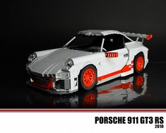 How cool is that? The Porsche 911 GT3 RS: A LEGO® creation by Malte Dorowski : MOCpages.com