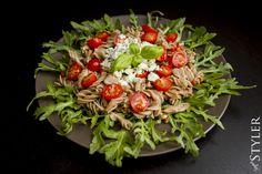 Lekki, szybki i pyszny makaron szybkie, proste, pyszne danie Cobb Salad, Food, Eten, Meals, Diet