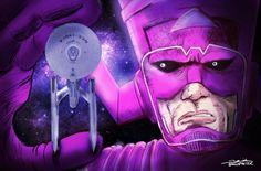 Galactus meets the Enterprise