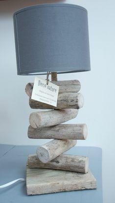 Lampe-bois-flotte