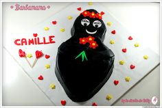 Jolie  réalisation de Barbamama ! Nelly vous dévoile sa recette ! Computer Mouse, Plain Cake, In Season Produce, Recipe, Pc Mouse, Mice