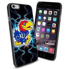 iPhone 6 Print Case Cover KU University Kansas Jayhawks Protector Black PAZATO® PAZATO Sport http://www.amazon.com/dp/B00OCJ8H8M/ref=cm_sw_r_pi_dp_Q3Ptub14ZNDAV