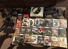 Xbox 360 120gb With Kinect 24 Games 3 Contollers Headset And Steering Wheel