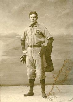 R.S. Gawthrop in baseball uniform.  9015-003-001 #5937.  Delaware Public Archives.  www.archives.delaware.gov