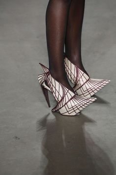 Amsterdam FW Jan 2014_Shoes Details_F/W 2014 Clarks Shoe Design Award  Womenwear