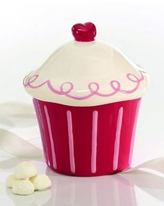 Cupcake Cookie Jar from Kitchens on the Square ($23.00)