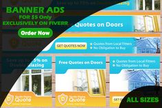design an Awesome 3 Adwords BANNER Ads by rubygraphix
