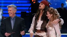Riker Lynch & pro partner Allison Holker ~ Dancing with the Stars ~ dancing the Paso Doble to Pirates of the Caribbean theme ~ (4-13-2015 ~ Disney week)