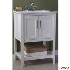 legion furniture ceramictop 24inch single sink bathroom vanity by legion furniture