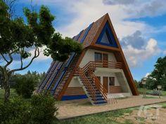 треугольный дом для турбазы дачный домик: 14 тыс изображений найдено в Яндекс.Картинках