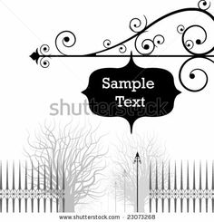 vintage style banner with place for text. vector editable design. by vladiwelt, via Shutterstock