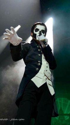 The Nameless Ghouls Papa Emeritus 3, Ghost Papa Emeritus Iii, Band Ghost, Ghost Bc, Ghost And Ghouls, Gothic Metal, Emo Bands, Death Metal, Great Bands