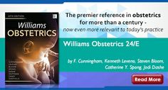 Williams Obstetrics 24/E by F. Cunningham, Kenneth Leveno, Steven Bloom, Catherine Y. Spong and Jodi Dashe