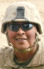 Marine SSgt. Jonathan D. Davis, 34, of Kayenta, Arizona. Died February 22, 2013, serving during Operation Enduring Freedom. Assigned to Headquarters Battalion, 32nd Georgian Liaison Team, Regimental Combat Team 7, 1st Marine Division, I Marine Expeditionary Force, Camp Pendleton, California. Died in Helmand Province, Afghanistan, when an improvised explosive device detonated near his position. SSgt. Davis was the 14th Navajo to die in combat during the wars in Iraq and Afghanistan.