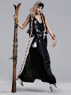 Caroline Trentini by Steven Pan for Vogue Korea November 2014