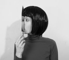 See Me! by By Flora Borsi. Reminds me of the cover of the new National album 'Trouble Will Find Me'.