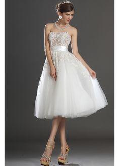 svatební šaty nad kolena - Hledat Googlem