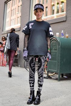 KTZ and Hood by Air at LFW S/S 13