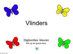 Digibordles kleuren/vlinders (kleuters) Eric Carle, Nice To Meet, Preschool, Kids, Crowns, Young Children, Boys, Kid Garden, Children