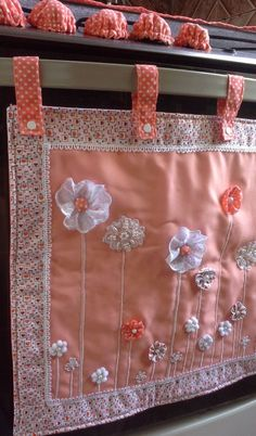 Diy Home Crafts, Crafts To Make, Arts And Crafts, Amish Crafts, Fabric Crafts, Sewing Crafts, Sewing Projects, Art Deco Curtains, Sewing Tutorials
