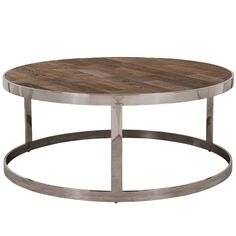 Create the ultimate luxury living room with the Maddox Reclaimed Elm coffee table. Reclaimed Wood Coffee Table, Rustic Coffee Tables, Round Coffee Table, Wood Furniture, Living Room Furniture, Richmond Interiors, Corner Table, Wood Species, Wood And Metal