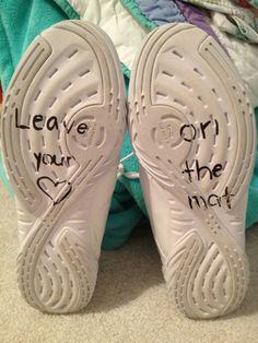 Leave your heart on the mat <3