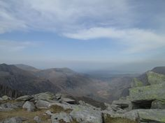 View from Glyder Fach