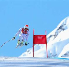 Bode Miller Dominates his Rivals in Training Run (Photo: Alexander Hassenstein / Getty Images) Winter Olympics 2014, Nbc Olympics, Action Pose Reference, Action Poses, Bode Miller, Alpine Skiing, Sports Figures, Team Usa, Nbc News