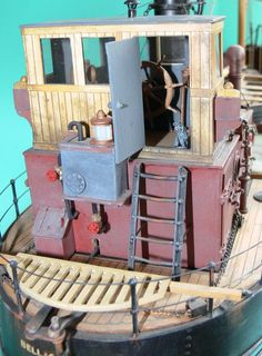Wooden Model Boats, Wood Boats, Model Sailboats, Great Lakes Ships, Model Boat Plans, Boat Kits, Boat Projects, Paddle Boat, Tug Boats