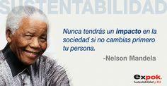 Nelson Mandela y la sustentabilidad.