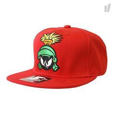 Starter x Looney Tunes Marvin Snapback ( red )  - http://www.overkillshop.com/de/product_info/info/15094/