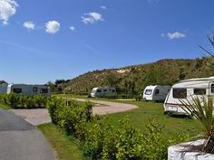 Campsites in Cornwall - Hayle - Atlantic Coast Holiday Park - UK Campsite Finder Cornwall Campsites, Uk Campsites, St Ives Bay, Holiday Park, Caravan Reviews, Recreational Vehicles, Touring, Golf Courses, Coast