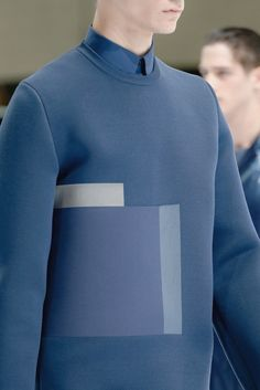 BLOCK ON BLUE | DIOR HOMME 2014 — Patternity