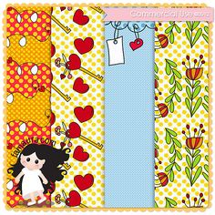 Template Papers Collection 2012 nº05 by Fa Maura