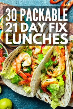 21 Day Fix Lunch Ideas | If you're looking for no cook, easy, on the go lunch ideas for work or for school, we've got you covered! Regardless of your dietary needs and preferences – vegan, vegetarian, chicken, beef, pork, gluten free, dairy free, etc. – these make ahead recipes make meal prep a breeze. #21dayfixlunch #21dayfixrecipes #21dayfixapproved #21dayfixextreme