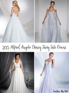 The 2015 Alfred Angelo Disney Fairy Tale Wedding Gowns - I love what he has done with all the Disney Princess wedding gowns. Disney Wedding Gowns, Dream Wedding Dresses, Disney Weddings, Fairytale Gown, Before Wedding, Wedding Styles, Wedding Ideas, Queen, Princess Wedding