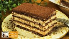 Cake Bars, Most Popular Recipes, Food Videos, Recipe Videos, Vegetarian Chocolate, Apple Recipes, Tiramisu, Food And Drink, Cooking Recipes