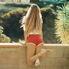 """BRANDY MELVILLE SHORTS Red """"lisette"""" shorts from Brandy Melville. No tag but 100% brand new Brandy Melville Shorts"""