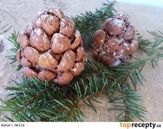 Šišky jako z lesa Almond, Garlic, Stuffed Mushrooms, Vegetables, Food, Stuff Mushrooms, Essen, Almond Joy, Vegetable Recipes