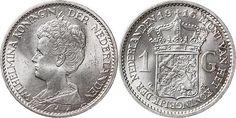 NumisBids: Schulman b.v. Auction 346, Lot 832 : KONINKRIJK DER NEDERLANDEN - WILHELMINA 1890–1948 1 Gulden 1916...