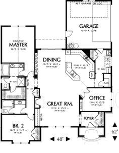 like this plan... Main Floor Plan
