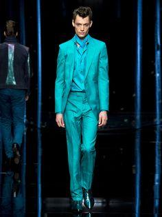 #RobertoCavalli Menswear SS 2013 fashion show