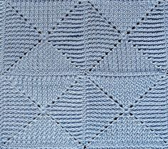 Ravelry: Toulouse Matelassé Lap-Robe pattern by Priscilla Hewitt
